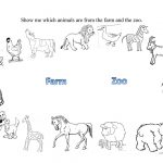 Farm And Zoo Animals Worksheet   Free Esl Printable Worksheets Made | Free Printable Zoo Worksheets
