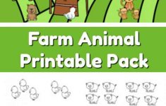 Farm Animals Printable Worksheets
