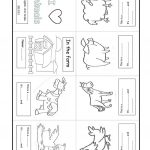 Farm Animal. Minibook Worksheet   Free Esl Printable Worksheets Made | Farm Animals Printable Worksheets