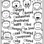Feelings And Emotions   Matching Worksheet   Free Esl Printable | Feelings And Emotions Worksheets Printable