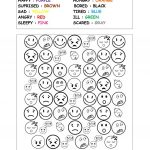 Feelings & Emotions (Worksheet For Young Learners) Worksheet   Free | Feelings And Emotions Worksheets Printable
