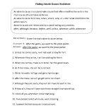 Finding Adverb Clauses Worksheet | Englishlinx Board | Adverbs | Year 10 English Worksheets Printable