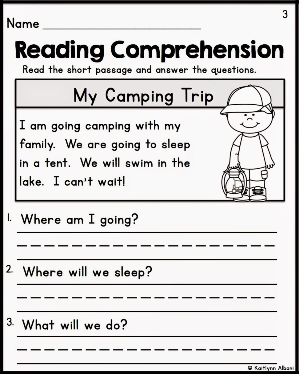 First Grade Common Core Reading Worksheets Free With Plus Spanish | Free Printable Reading Worksheets For 1St Grade