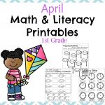 First Grade Worksheets For Spring   Planning Playtime | Spring Break Printable Worksheets