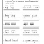 First Grade Writing Worksheets Free Printable – Worksheet Template | 2Nd Grade Language Arts Worksheets Free Printables