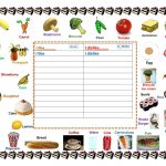 Foods I Like & Dislike Worksheet   Free Esl Printable Worksheets | Likes And Dislikes Worksheets Printable