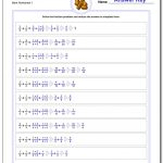 Fraction Addition | Free Printable 4Th Grade Math Fraction Worksheets
