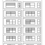 Fraction / Free Printable Worksheets – Worksheetfun | Free Printable Fraction Worksheets
