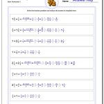 Fraction Multiplication | Printable Fraction Worksheets