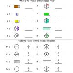 Fractions Worksheets | Printable Fractions Worksheets For Teachers | Free Printable Fraction Worksheets