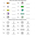 Fractions Worksheets | Printable Fractions Worksheets For Teachers | Free Printable Fraction Worksheets For Kindergarten