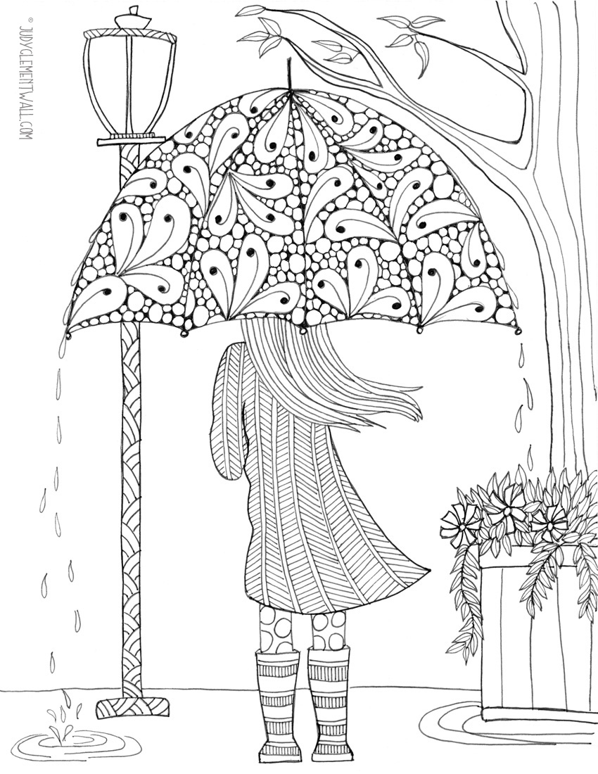 Free Adult Coloring Pages - Happiness Is Homemade | Colouring Worksheets Printable