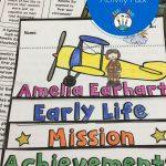 Free Classroom Printables For Teachers!   All Heart 2 Heart   Amelia Earhart Free Worksheets Printable