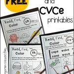 Free Digraph And Cvce Printables   The Kindergarten Connection   Free Printable Digraph Worksheets For First Grade