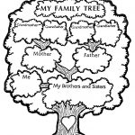 Free Download   Family Tree Coloring Page | Genealogy, Charts, Dna | My Family Tree Free Printable Worksheets