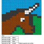 Free Math Coloring Pages   Pixel Art And Math | Printable Math Coloring Worksheets