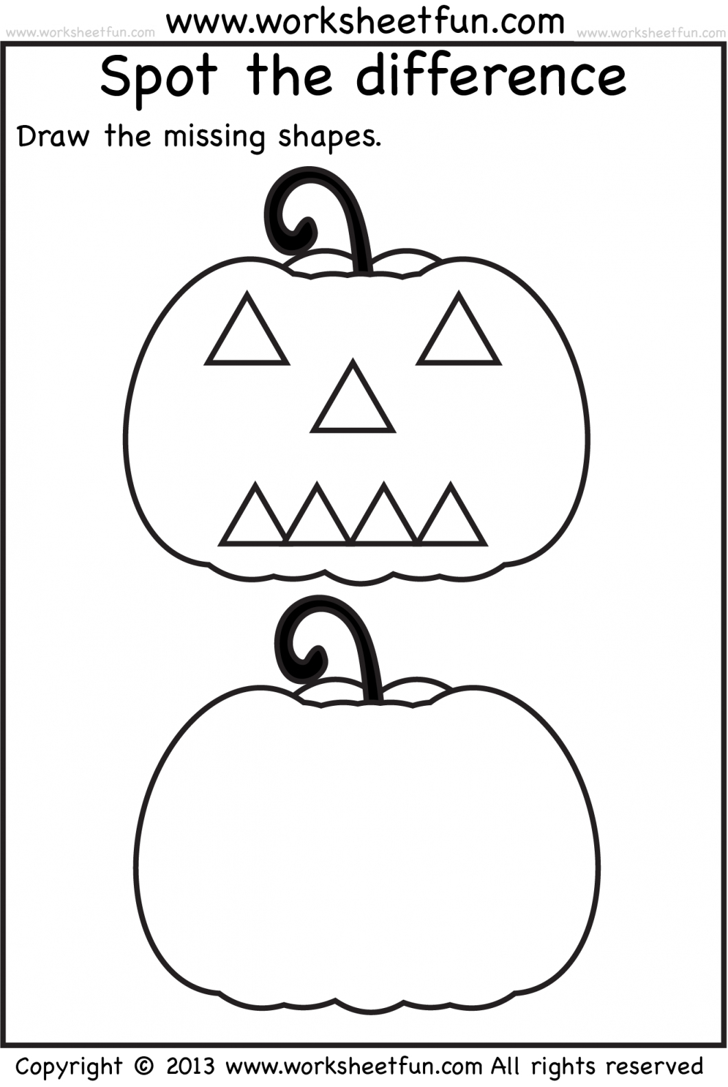 Free Preschool Activity Sheets – With Number Activities For | Preschool Halloween Worksheets Printables
