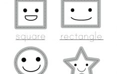 Printable Preschool Worksheets Shapes