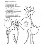Free Printable Activity Sheets For Kids – With Preschool Also | Printable Art Worksheets