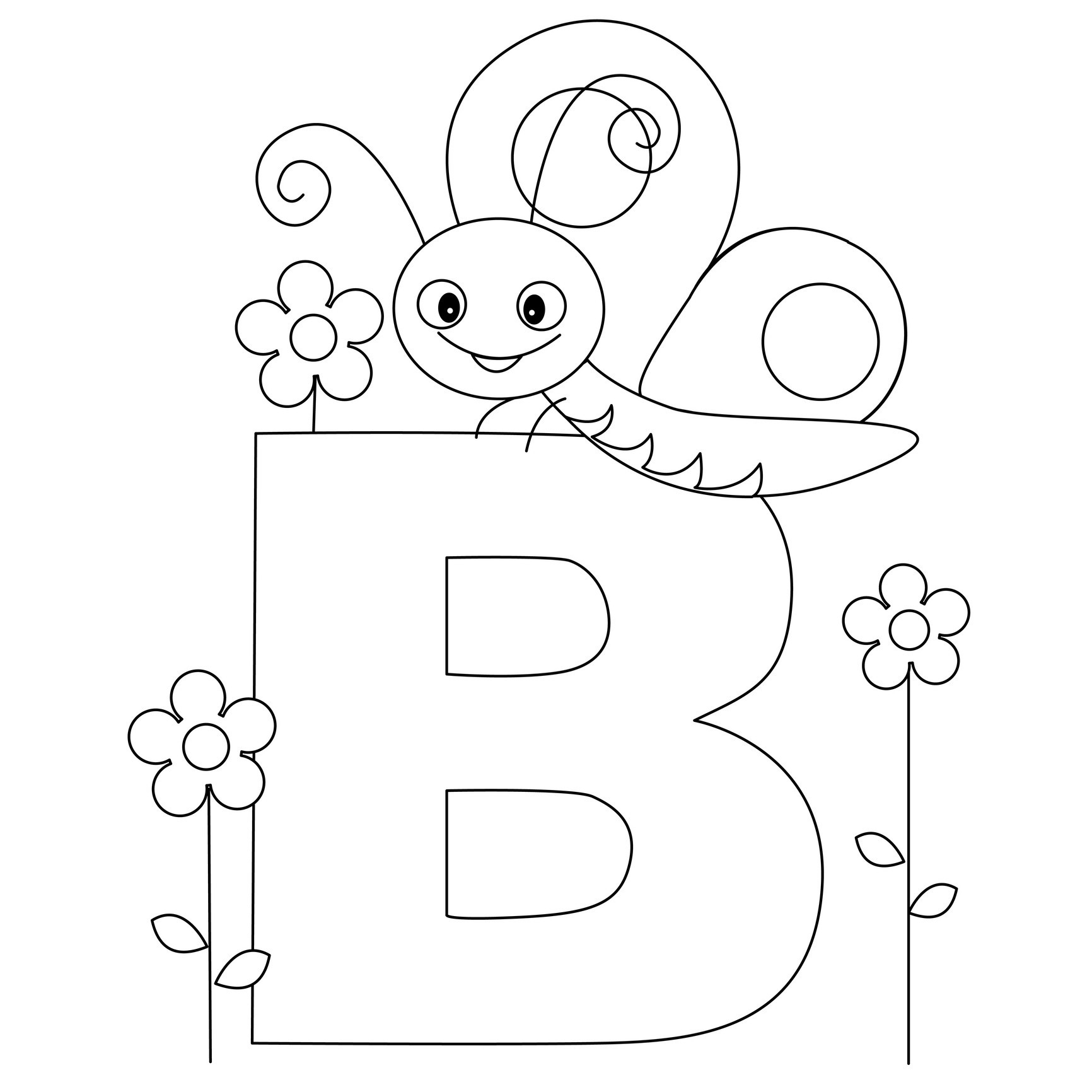 Free Printable Alphabet Coloring Pages For Kids - Best Coloring | Free Printable Color By Letter Worksheets