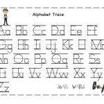 Free Printable Alphabet Letter Tracing Worksheets | Angeline   Free | Letter Tracing Worksheets Free Printable