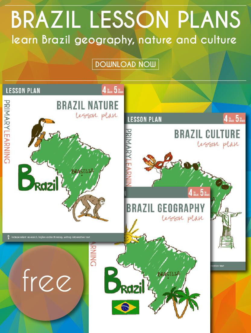 Free Printable Brazil Lesson Plans | Shopping Hacks | Lesson Plans | Brazil Worksheets Free Printables