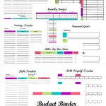 Free Printable Budget Binder Worksheets | Free Printables | Printable Budget Binder Worksheets