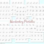 Free Printable Cursive Writing Practice Free Practice Cursive | Printable Cursive Handwriting Worksheets Alphabet