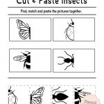Free Printable Cut And Paste Worksheets For Preschool | Kidstuff | Free Printable Kindergarten Worksheets Cut And Paste