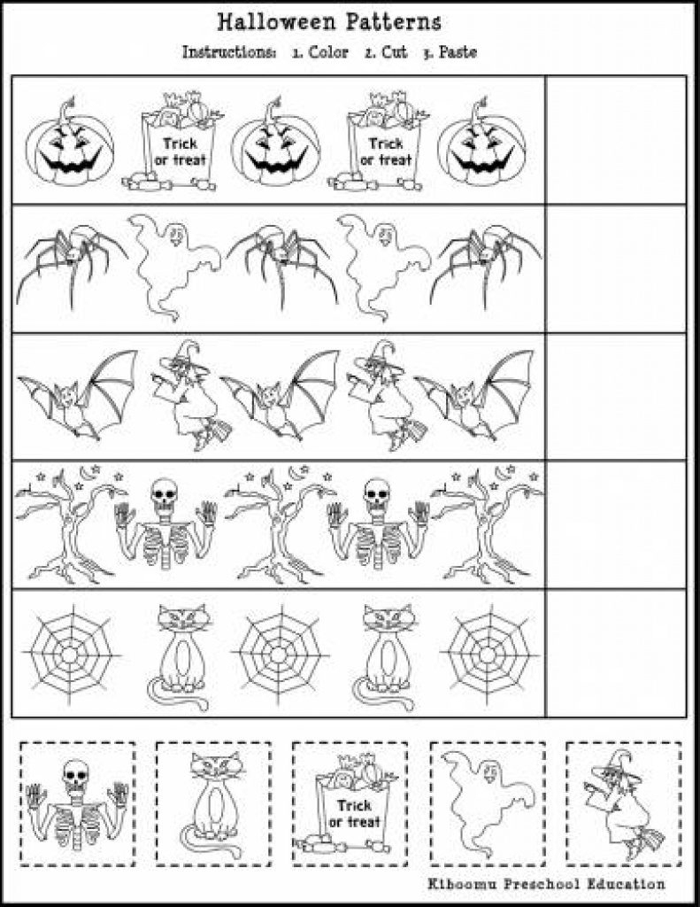 Free Printable French Halloween Worksheets | Free Printables | Free Printable French Halloween Worksheets