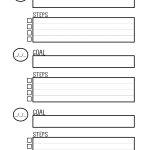 Free Printable Goal Setting Worksheet   Planner … | Education | Free Printable Goal Setting Worksheets For Students