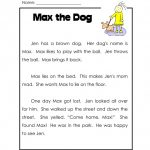 Free Printable Grade 1 Reading Comprehension Worksheets | Free Printable Grade 1 Reading Comprehension Worksheets