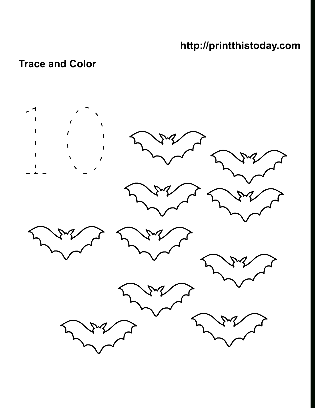 Free Printable Halloween Math Worksheets For Pre-School And Kindergarten | Preschool Halloween Worksheets Printables