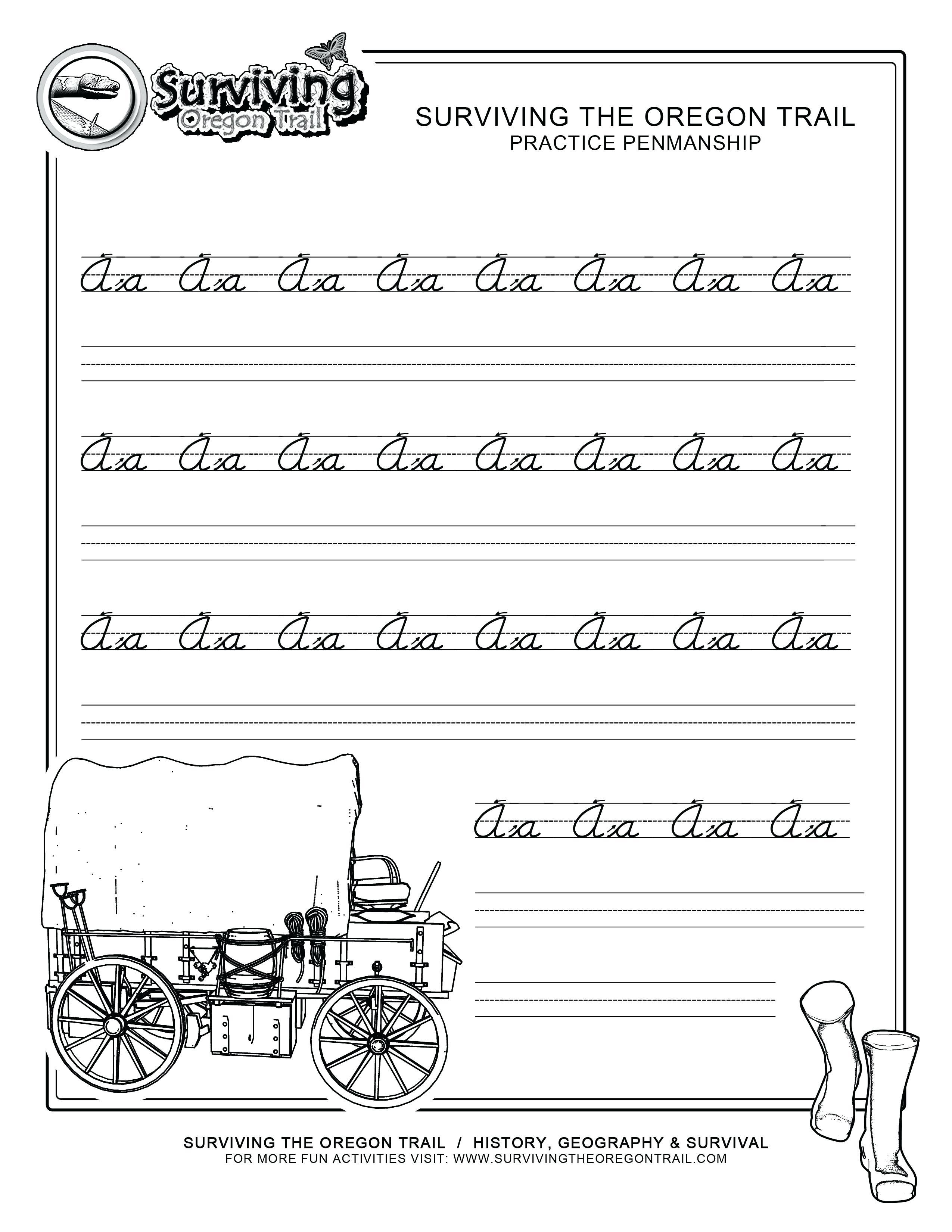 Free Printable Handwriting Practice Worksheets – Pointeuniform.club | Free Printable Worksheets Handwriting Practice