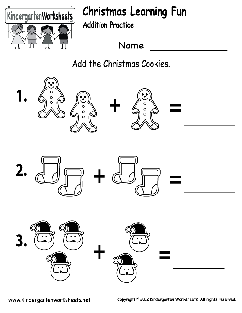 Free Printable Holiday Worksheets | Free Christmas Cookies Worksheet | Free Printable Christmas Worksheets
