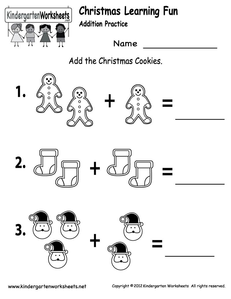 Free Printable Holiday Worksheets | Free Christmas Cookies Worksheet | Winter Holidays Worksheets Printables
