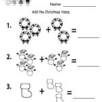 Free Printable Holiday Worksheets | Free Printable Kindergarten | Free Printable Christmas Math Worksheets Kindergarten