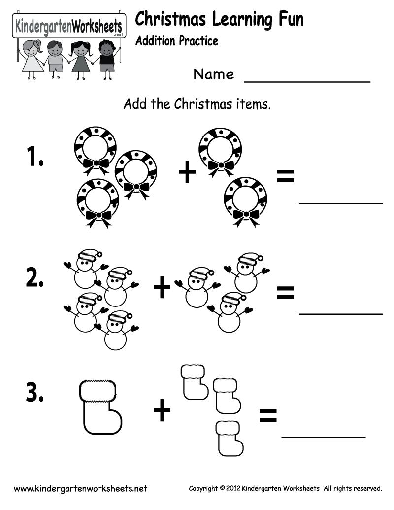 Free Printable Holiday Worksheets | Free Printable Kindergarten | Free Printable Kid Activities Worksheets