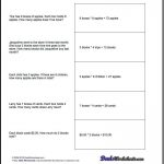 Free Printable Introductory Word Problem Worksheets For Addition For   3Rd Grade Multiplication Word Problems Worksheets Printable