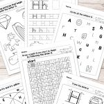 Free Printable Letter H Worksheets   Alphabet Worksheets Series | Free Printable Letter Recognition Worksheets