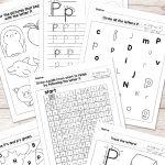 Free Printable Letter P Worksheets   Alphabet Worksheets Series | Free Printable Letter P Worksheets
