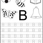 Free Printable Letter Tracing Worksheets For Kindergarten – 26 | Free Printable Preschool Worksheets Tracing Letters