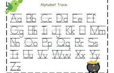Free Printable Alphabet Tracing Worksheets For Kindergarten