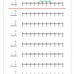 Free Printable Number Addition Worksheets (1 10) For Kindergarten | Free Printable Number Line Worksheets