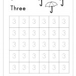 Free Printable Number Tracing And Writing (1 10) Worksheets   Number   Printable Number Tracing Worksheets For Kindergarten