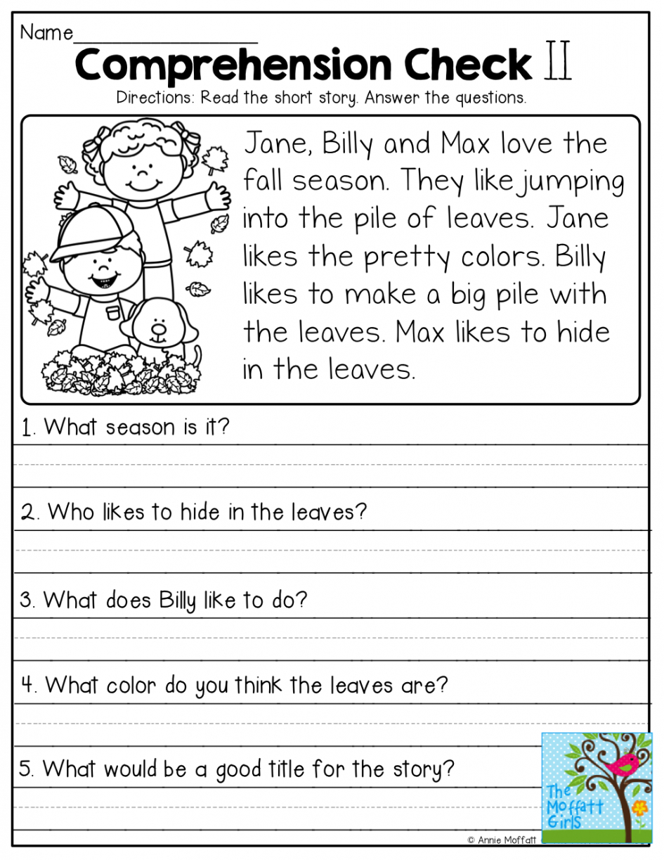 Free Printable Reading Comprehension Worksheets 3Rd Grade To Print | 3Rd Grade English Worksheets Printable