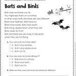 Free Printable Reading Comprehension Worksheets For Kindergarten | Free Printable Easter Reading Comprehension Worksheets