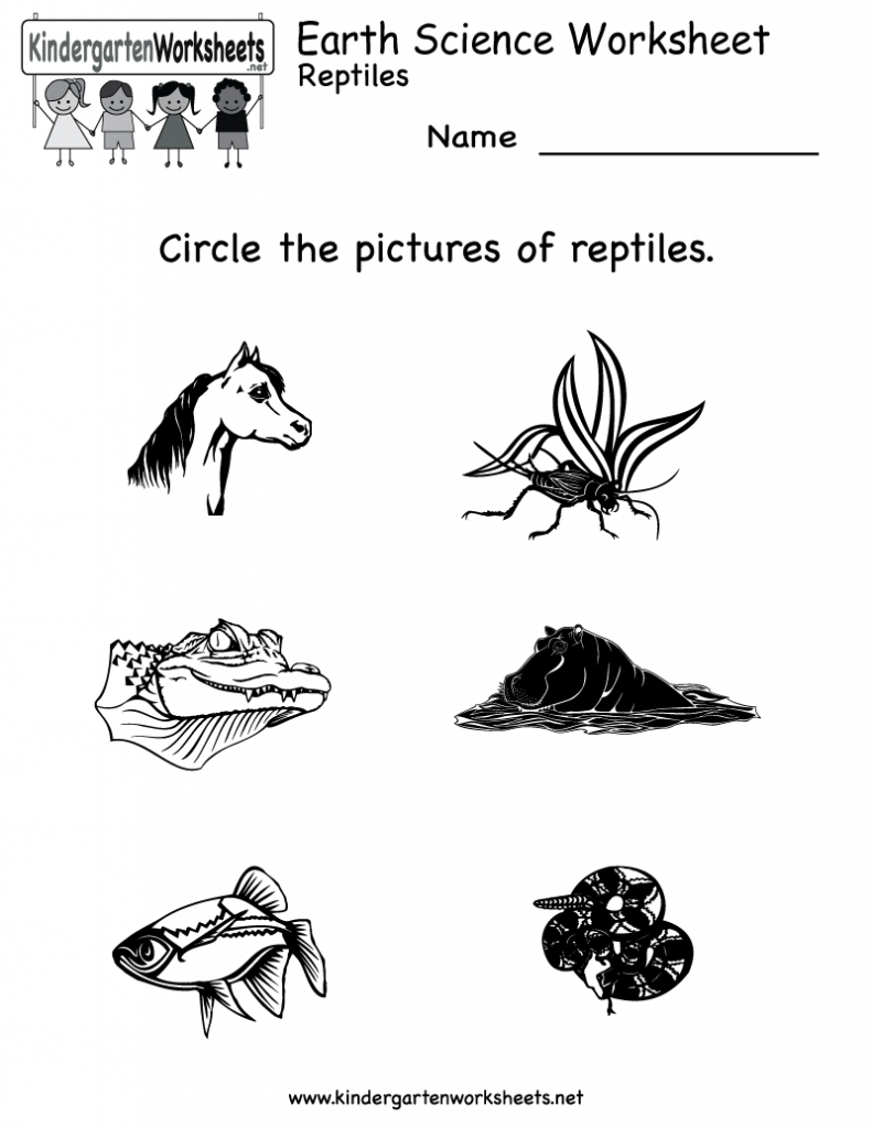 Free Printable Science Worksheets For Kindergarten To Free - Math | Science Worksheets For Kindergarten Free Printable