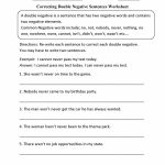 Free Printable Sentence Correction Worksheets The Best Image   Free | Free Printable Sentence Correction Worksheets