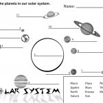 Free Printable Solar System Coloring Pages For Kids | Education | Free Printable Space Worksheets